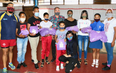 JAG Foundation and Dance Donation lends a hand to Melvin's Dance Studio in Bonteheuwel.